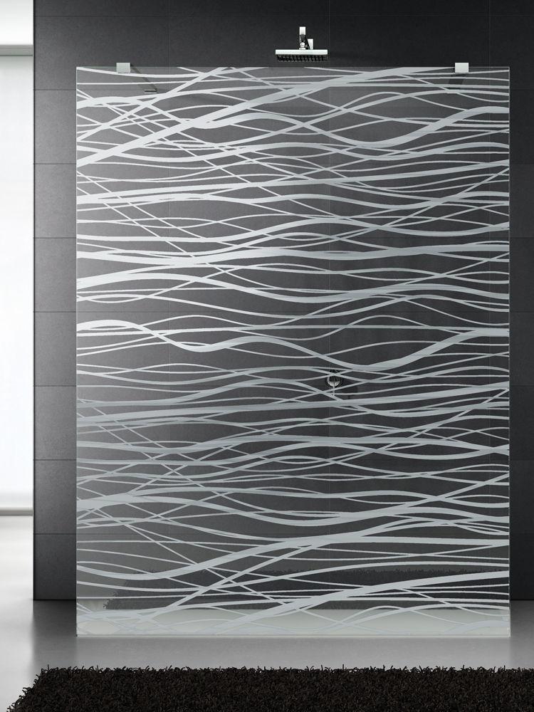 Float Gl Panel Patterned Textured For Showers Fili MatÉ
