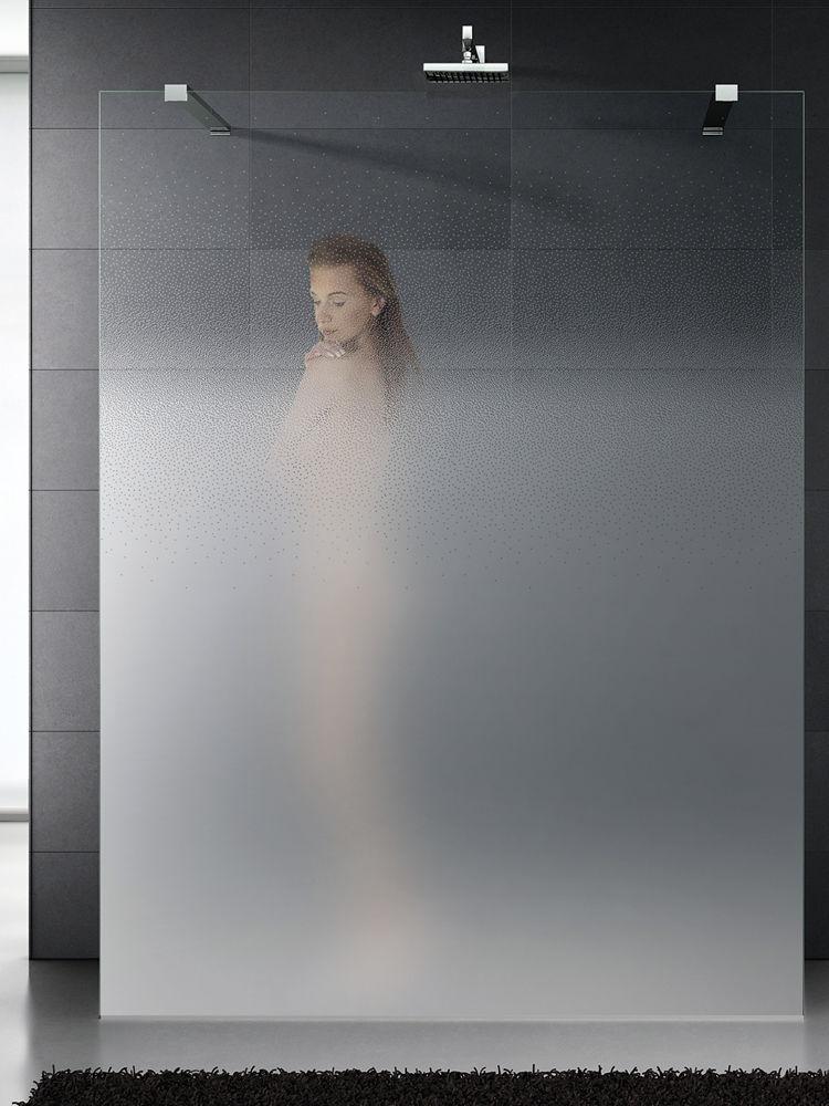 Shower Gl Panel Translucent Madras Vision