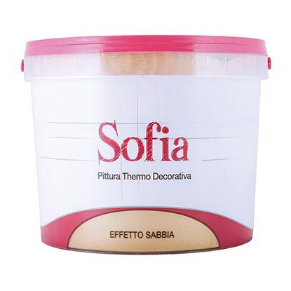 Insulating Paint / Decorative / For Interior / For Walls   SOFIA DIVA GOLD