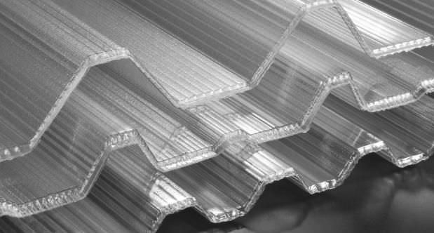 Marvelous Polycarbonate Roofing Panel / With UV Protection / Shaped GRECATEC® KOSCON  INDUSTRIAL SA ...