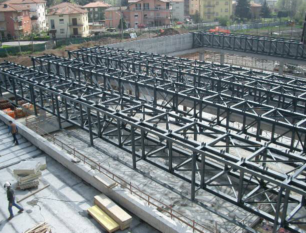 Spatial Metal Truss - Faletti Sas Building Construction