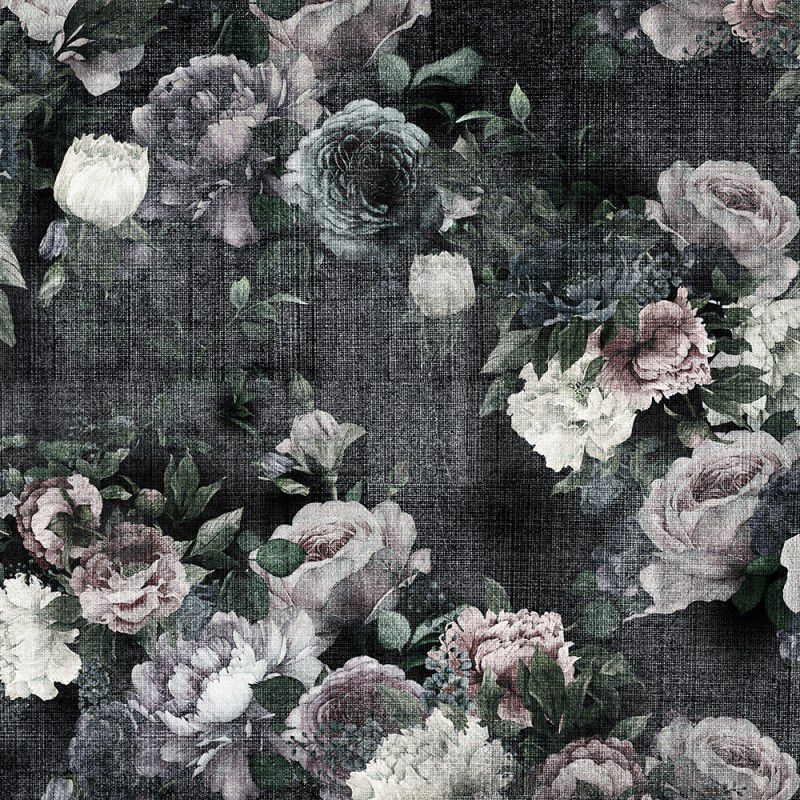 Contemporary wallpaper / vinyl / floral - FIAMMINGO - ADRIANI E ...