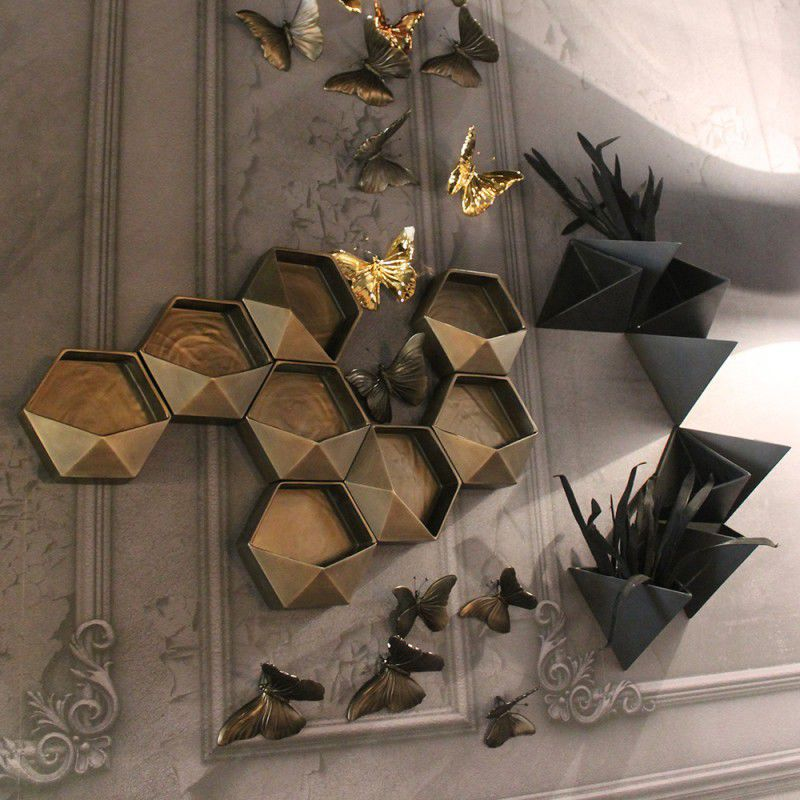 Original design vase / ceramic / wall-mounted - DODO - ADRIANI E ...