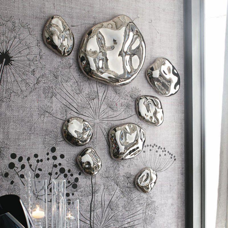 Ceramic sculpture / wall-mounted - STONE - ADRIANI E ROSSI EDIZIONI