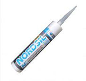 Elastic Sealant Silicone Resin Leak Proofing Waterproof Nordsil Ac