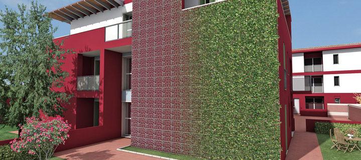 Metal Wall Trellis green wall trellis / metal - wall-y® - geoplast