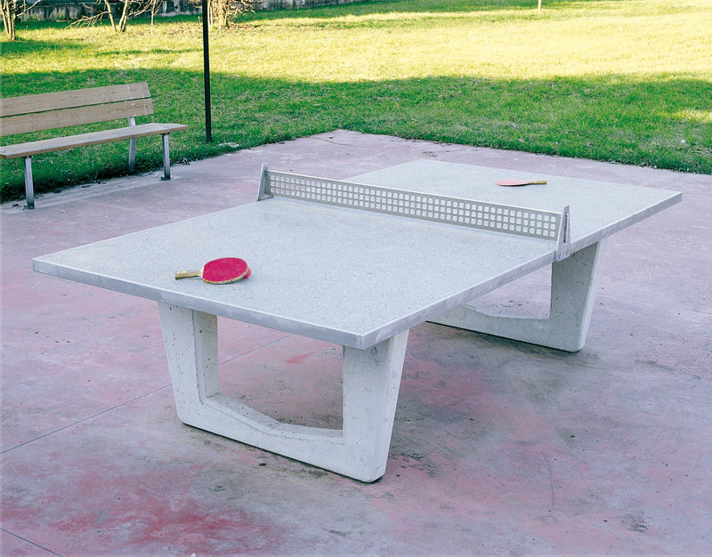 Delightful Outdoor Ping Pong Table / For Playgrounds   011068