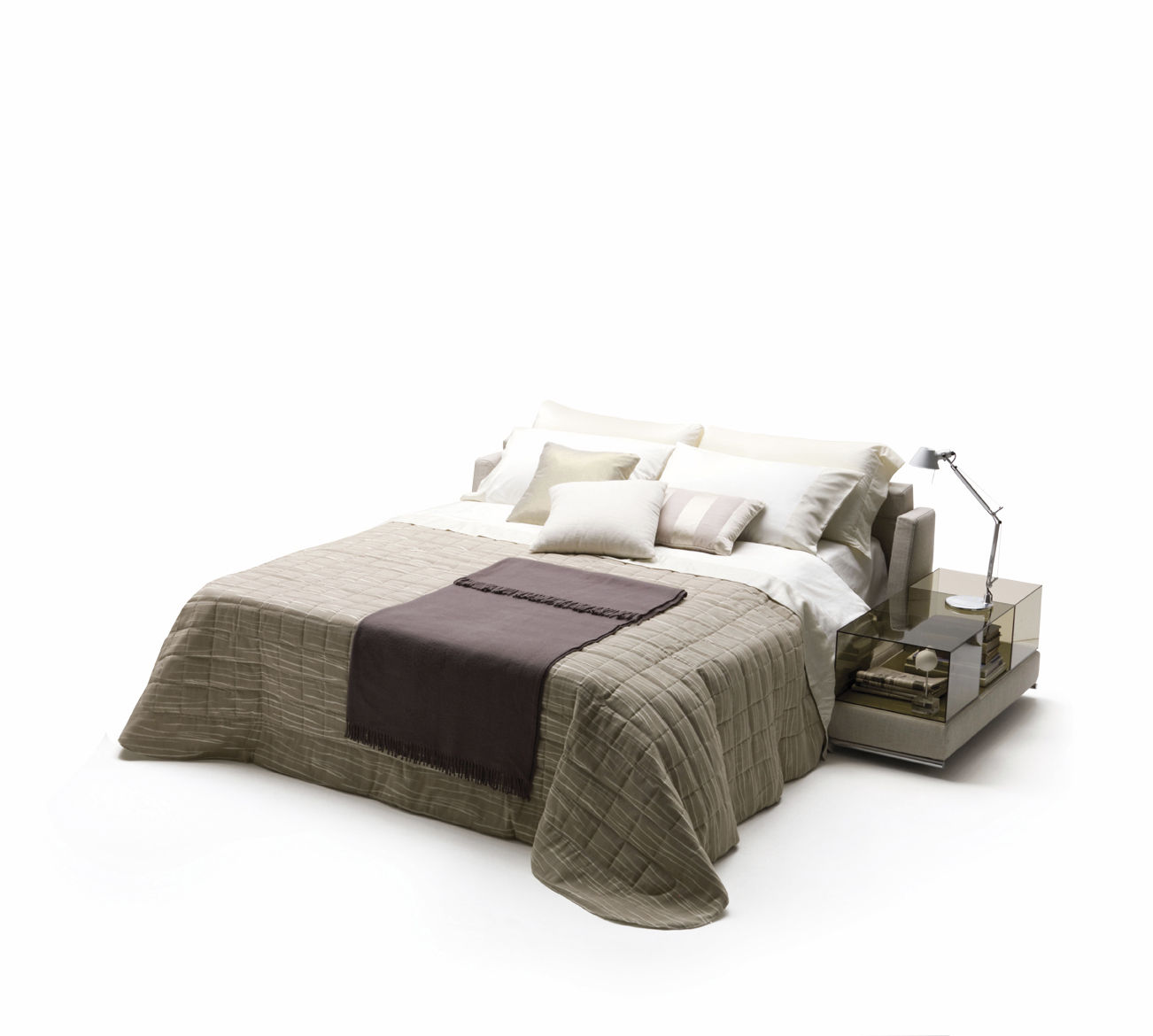 Modular Sofa Bed Contemporary Fabric Joe By Alesandro Elli