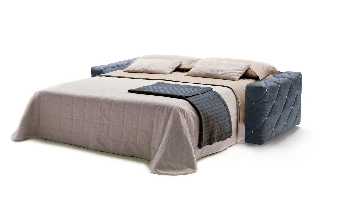 sofa bed / art deco / fabric / 2-seater - douglaselena viganò