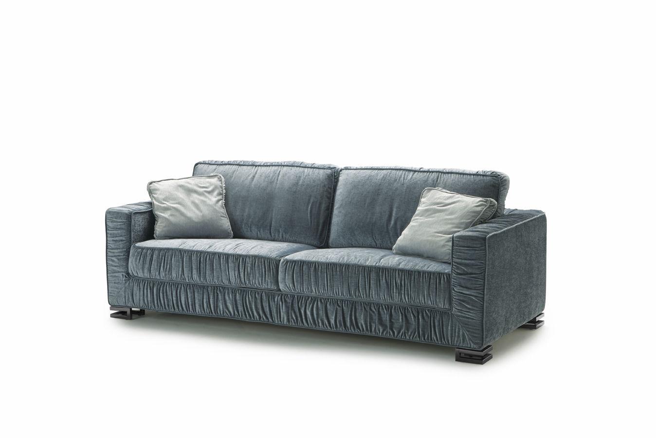 Sofa Bed Art Deco Fabric 2 Person