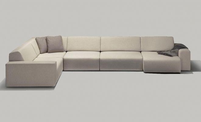 Modular Sofa Contemporary Fabric Contract Xl By Roberto