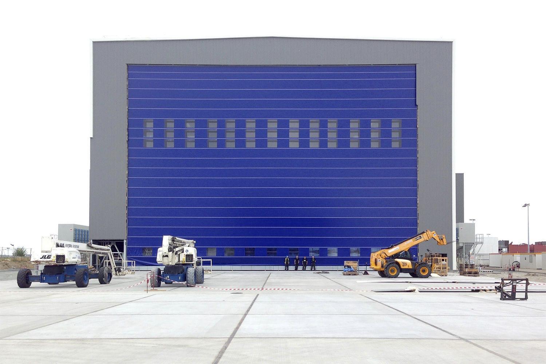 ... Folding industrial door / metal / waterproof / shipyard SHIPYARD DOORS Ch&ion Door ...
