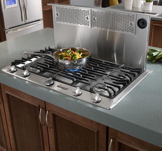 countertop range hood with builtin lighting renaissance erv3615 erv3015 erv36er erv48er