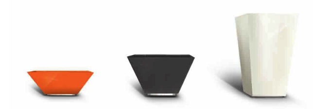 Metal Planter / Square / Contemporary / For Public Spaces LOUNGE METALCO