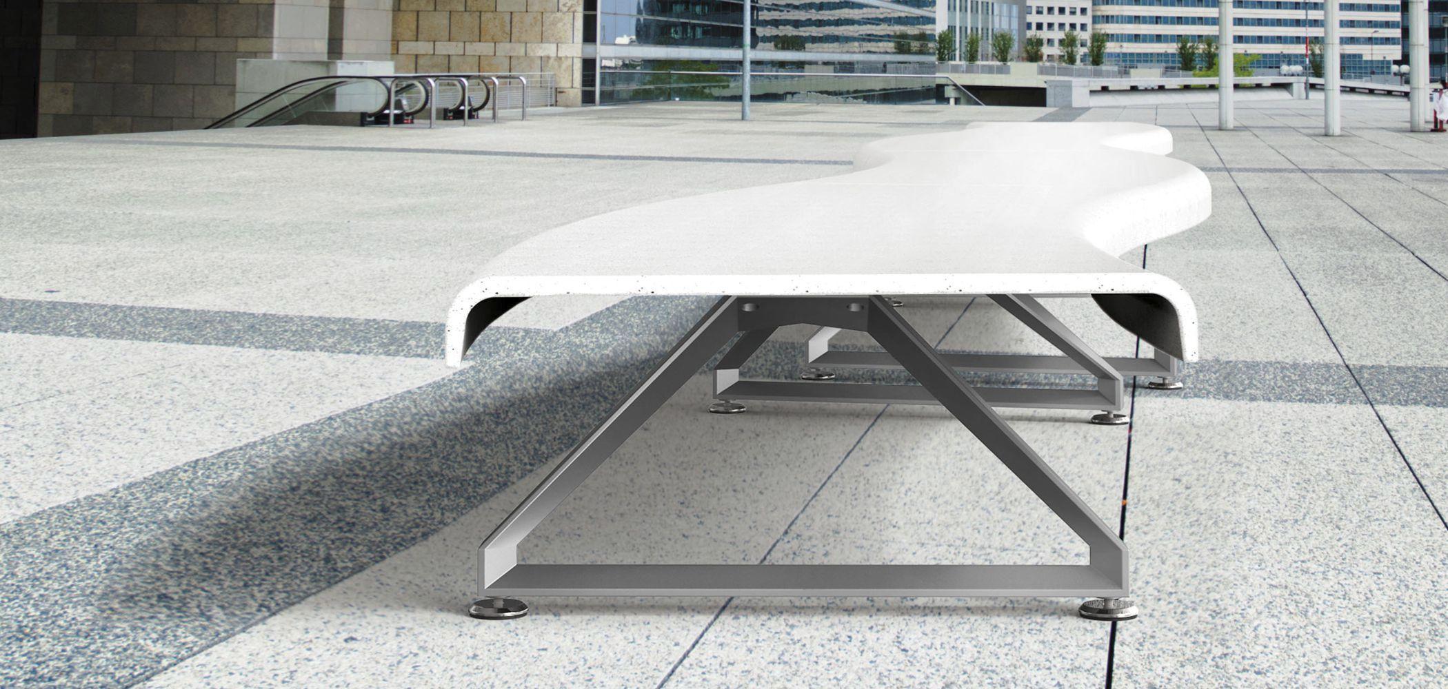 ... Public Bench / Garden / Contemporary / High Performance Concrete