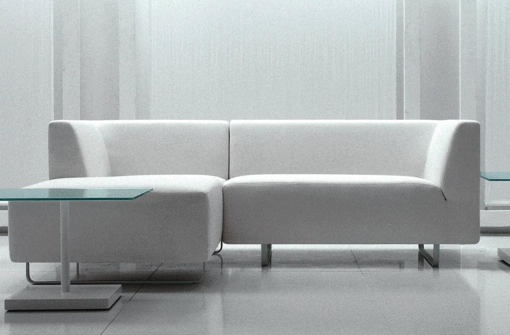 Modular Sofa Contemporary Polyester Fiber Commercial Swing