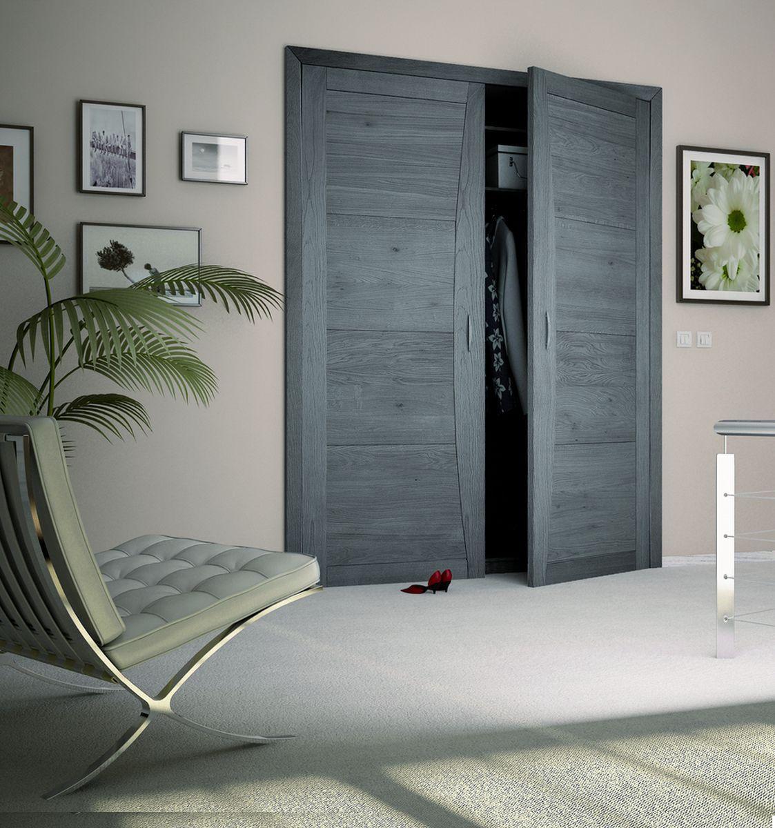 Good Closet Door / Swing / Beech / Double Leaf   DESIGN : MISTRAL®