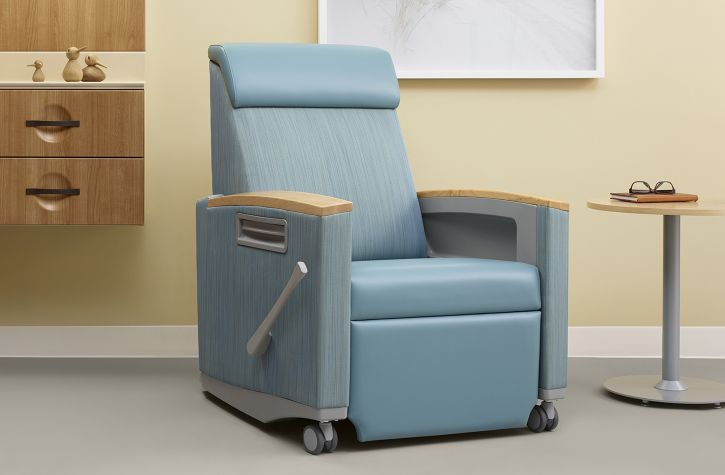 Beautiful Synthetic Leather Medical Chair / Reclining / With Legrest   CONSOUL