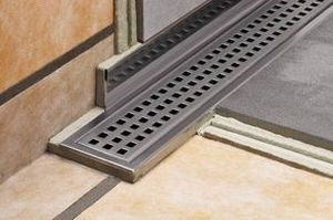 linear shower drain schluter systems