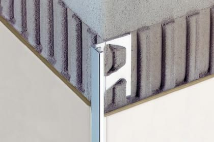Aluminum Edge Trim For Tiles Straight Schluter Jolly