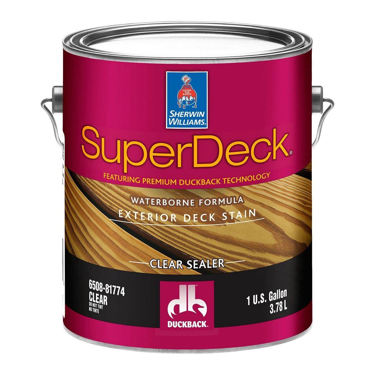 Wood Flooring Wood Sealer Superdeck Exterior Waterborne Clear