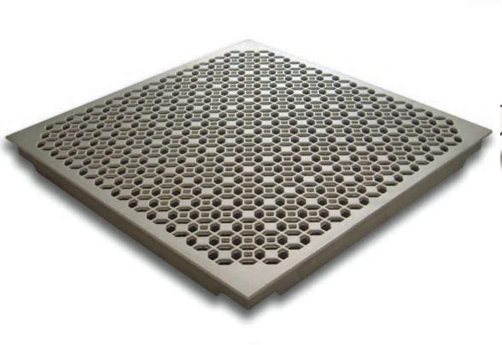 Aluminum Raised Access Floor Indoor Perforated Grateaire