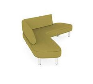 Corner Sofa Contemporary Fabric Commercial Zones Teknion
