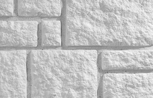 Engineered Stone Wall Cladding Panel / Exterior / Interior / 100%  Recyclable   LANDHOUSE WHITE