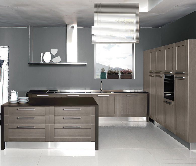 Contemporary Kitchen / Wooden / Island / Ecological   LICIA