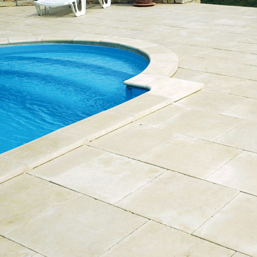 Engineered stone swimming pool coping - BERGERAC - WESER
