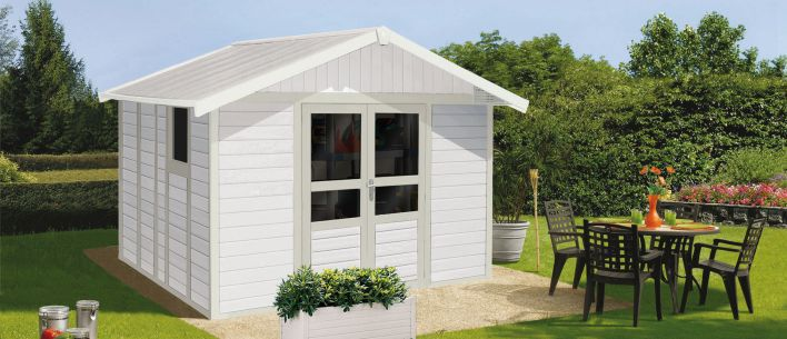 ... Metal Garden Shed / Recycled Plastic / Contemporary / Residential ...
