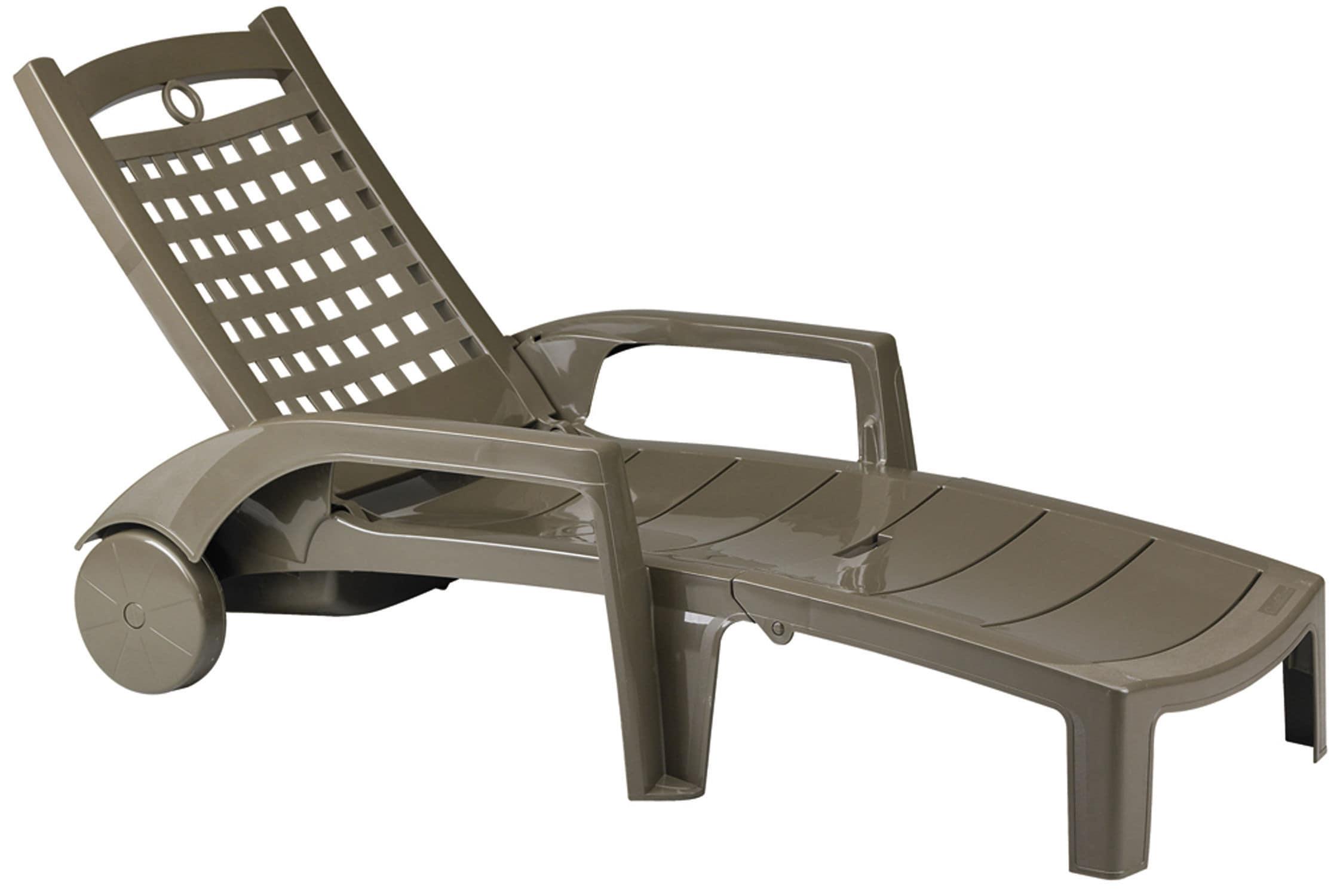 Outdoor chaise longue BORA GROSFILLEX fenªtres