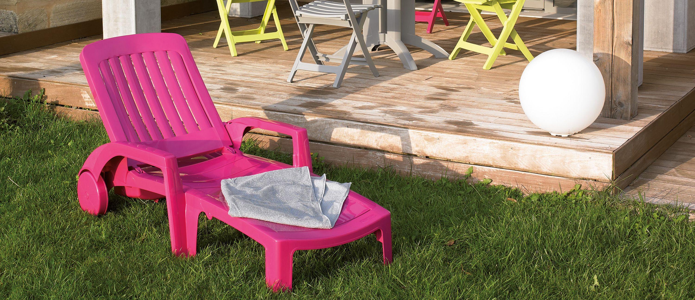 Contemporary sun lounger residential MIAMI GROSFILLEX fenªtres