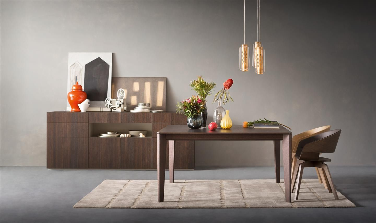 Contemporary Sideboard Lacquered Wood Metropolis By R D A Alf Uno
