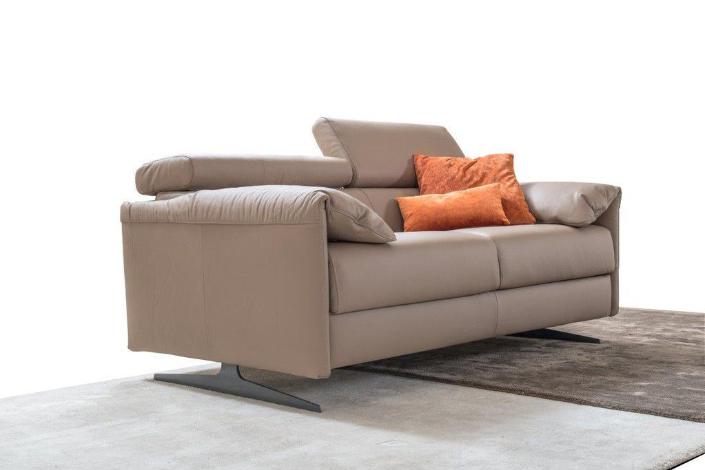 Modular Sofa Bed Contemporary Leather