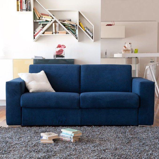Sofa Bed / Contemporary / Leather / Fabric   DAVIS
