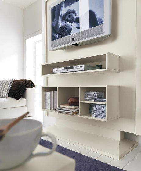 tv wall unit vintage rossetto armobil