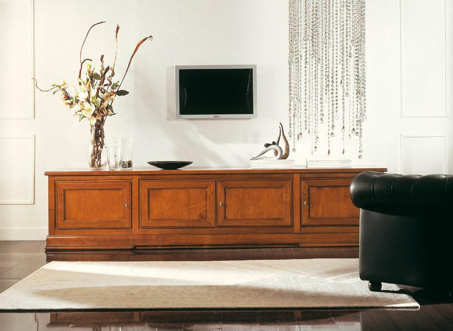 Traditional TV cabinet / wooden - ART.223/B - Arte Antiqua di Zen ...