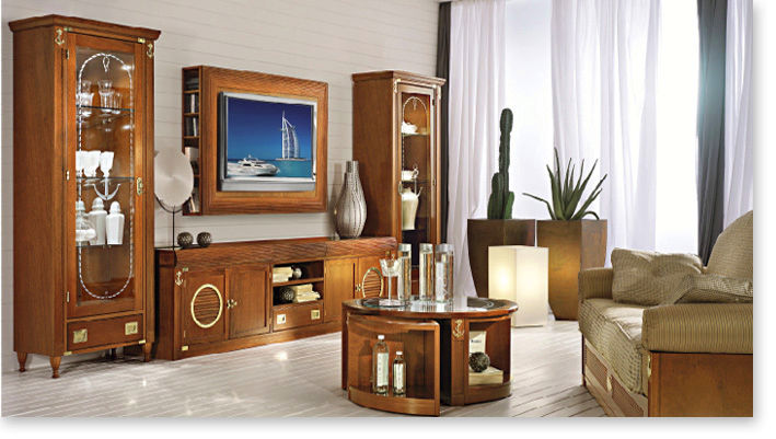 Traditional Living Room Wall Units traditional living room wall unit / wooden / glass - 836 - caroti
