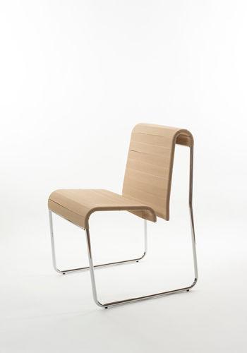 ... Contemporary Chair / Sled Base / Metal / Commercial FARALLON By Yves  Behar Danese ...