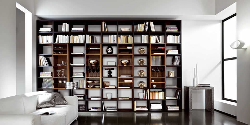 Contemporary Bookcase Wooden