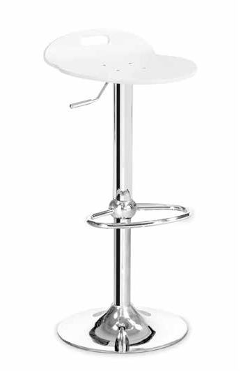 Contemporary Bar Stool Adjule Rock Olivo Ei