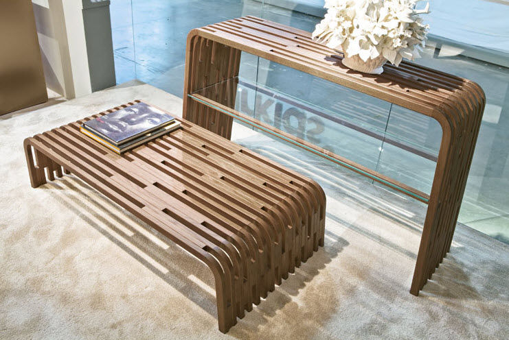 contemporary coffee table   wooden   rectangular. MILLERIGHE Pacini    Cappellini 6226f4d860a8