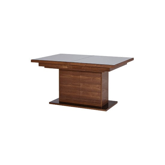 Contemporary Table Wooden Rectangular Extending Catania