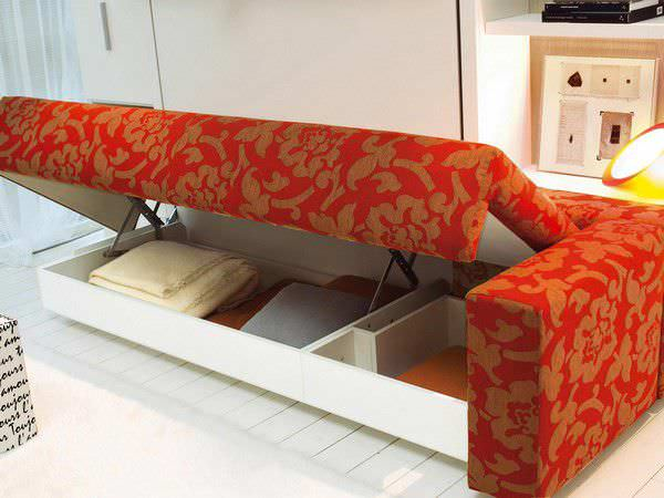 ... Sofa Bed / Contemporary / Fabric / 3 Seater ...