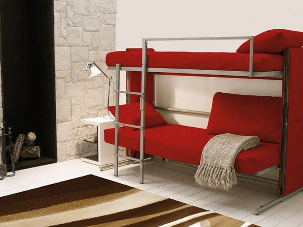 ... Sofa Bed / Contemporary / Metal / 2 Seater ...