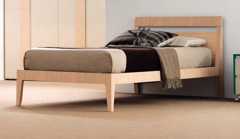 Modern Single Bed Designs Alluring Single Bed  Contemporary  Solid Wood  Child's Uni Fresh . Design Decoration