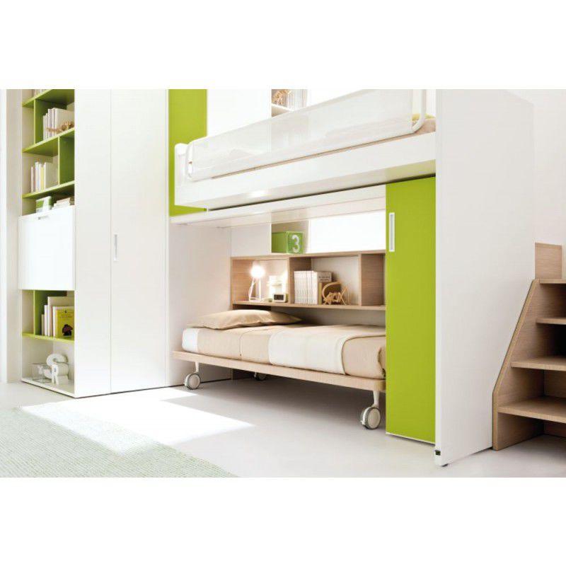 ... Unisex children's bedroom furniture set / green START 01 Clever ...