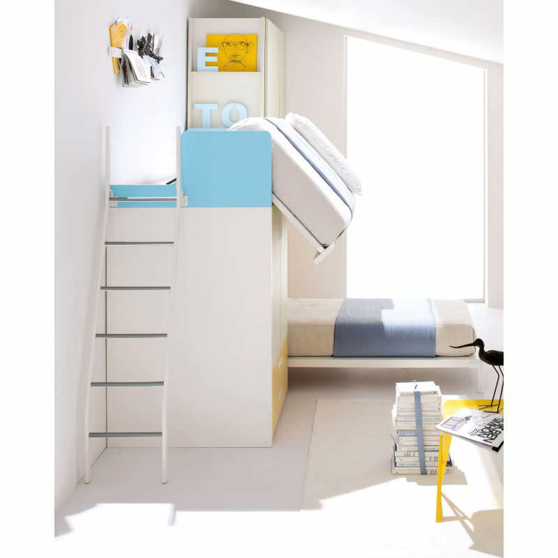 ... Unisex children's bedroom furniture set / orange START 04 Clever ...