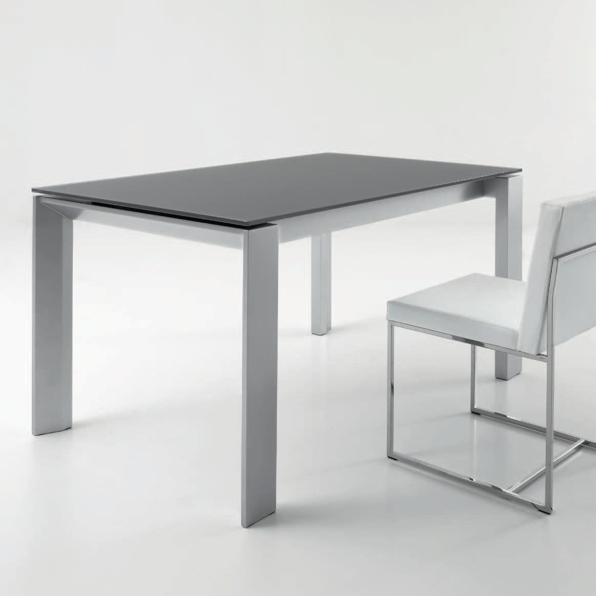 Tavolo sala da pranzo vetro: dalani tavolo rettangolare: arredare ...
